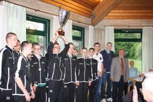 U16 Basketball Jugend Regionalliga Meister