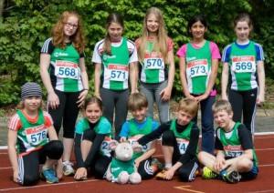 Leichtathletik_Wettkampf_Junior Cup